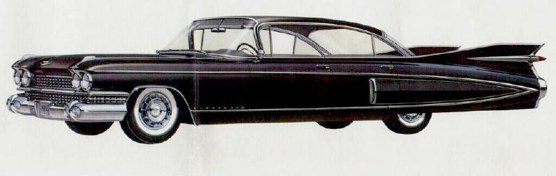 The 1959 Cadillac Fleetwood Sixty Special Sedan