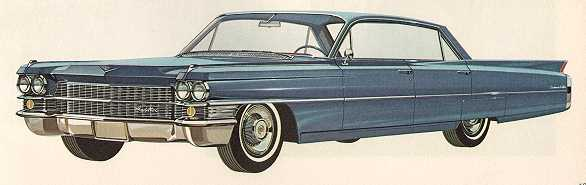 1963 cadillac coupe de ville and six window sedan de ville